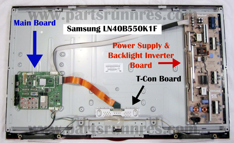 ln40b550k1f samsung lcd tv repair guide rh partsrunners com lcd monitor repair guide pdf lcd monitor repair guide pdf